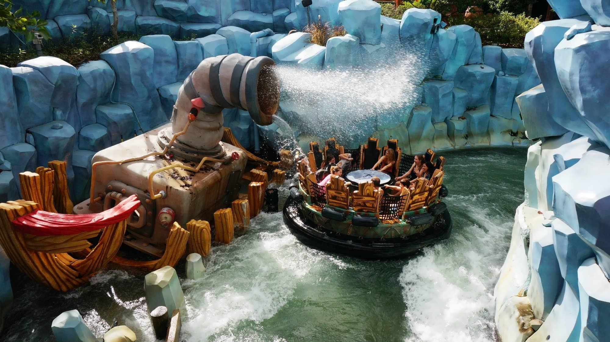 Island Of Adventure Orlando Water Rides