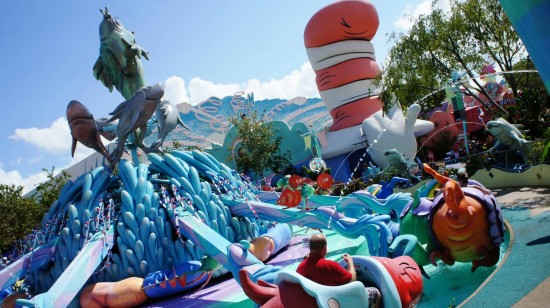 One Fish, Two Fish, Red Fish, Blue Fish at Islands of Adventure.