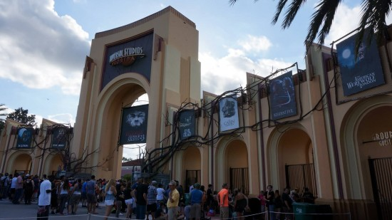 Entrance to Halloween Horror Nights 2013.