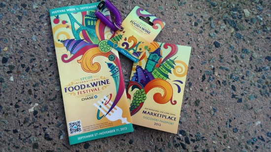 2013 Epcot International Food & Wine Festival.