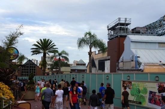 Disney Springs construction.
