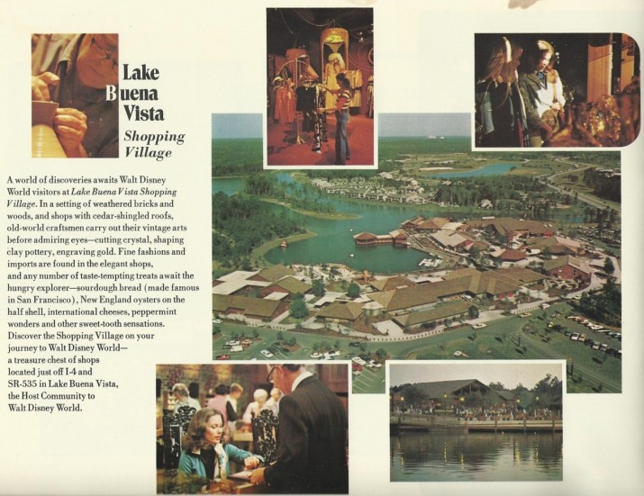 Lake Buena Vista Shopping Village.