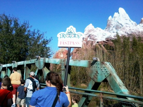 FastPass+ at Disney's Animal Kingdom.