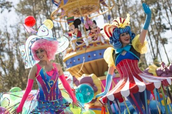 Disney Festival of Fantasy parade.