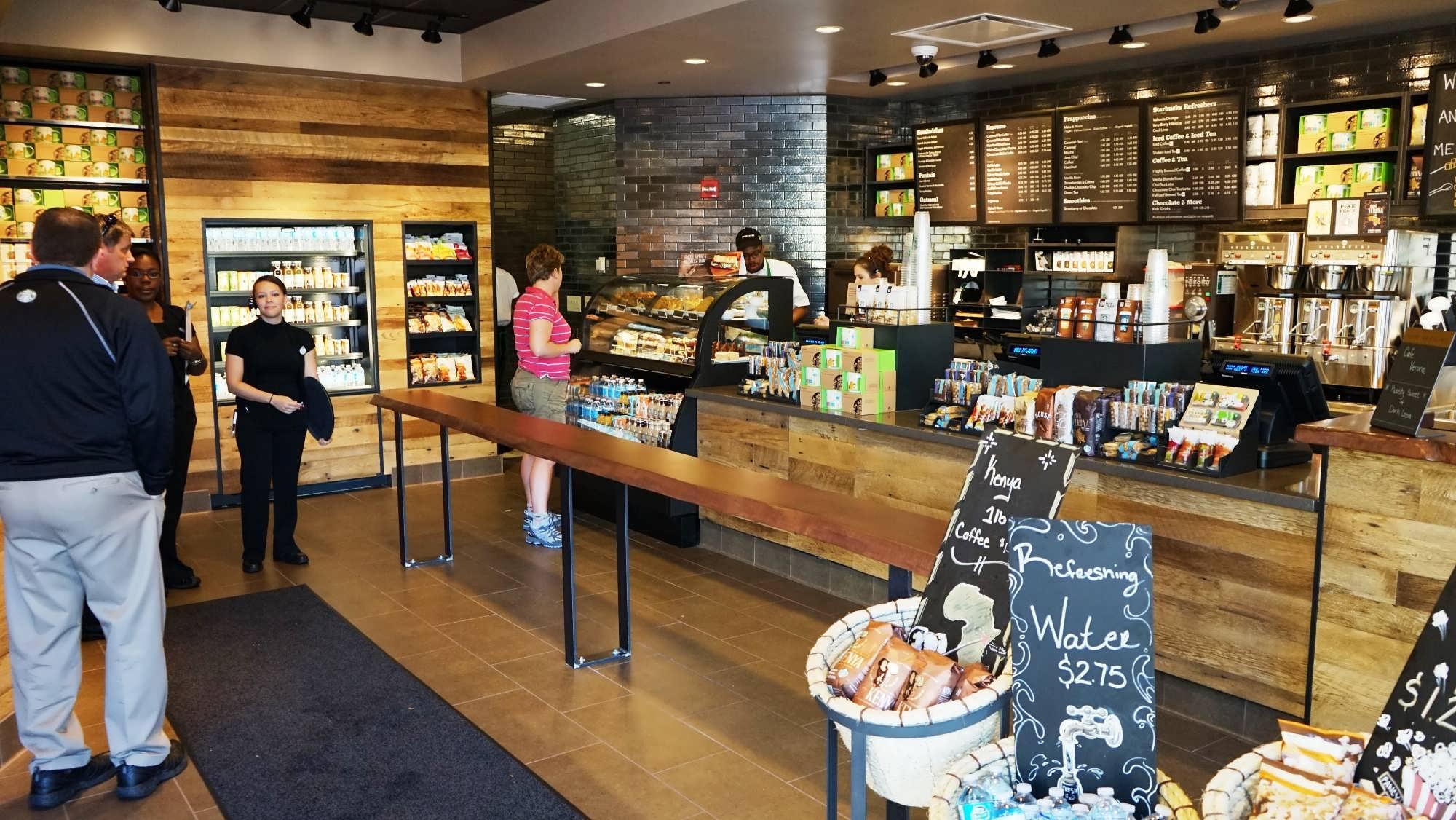 Starbucks at Universal's Islands of Adventure
