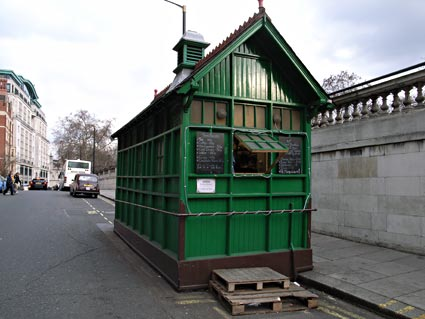 A Cabman's Shelter in London
