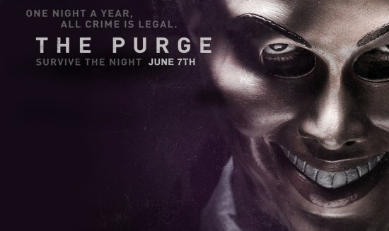 The Purge at Halloween Horror Nights 2014.