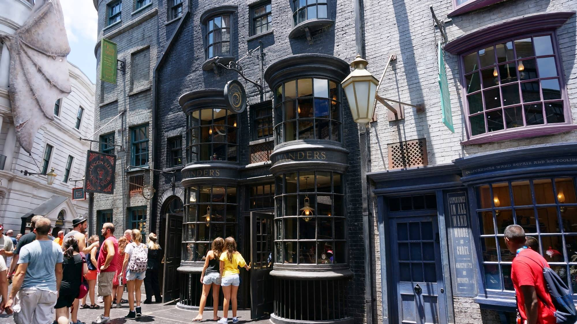 Ollivander's Wand Shop at Diagon Alley