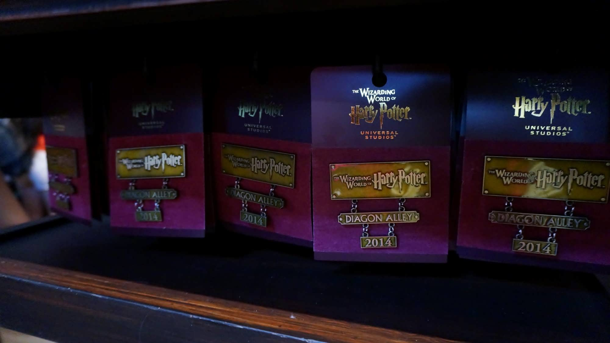 Diagon Alley opening commemorative pin at The Wizarding World of Harry Potter - Diagon Alley