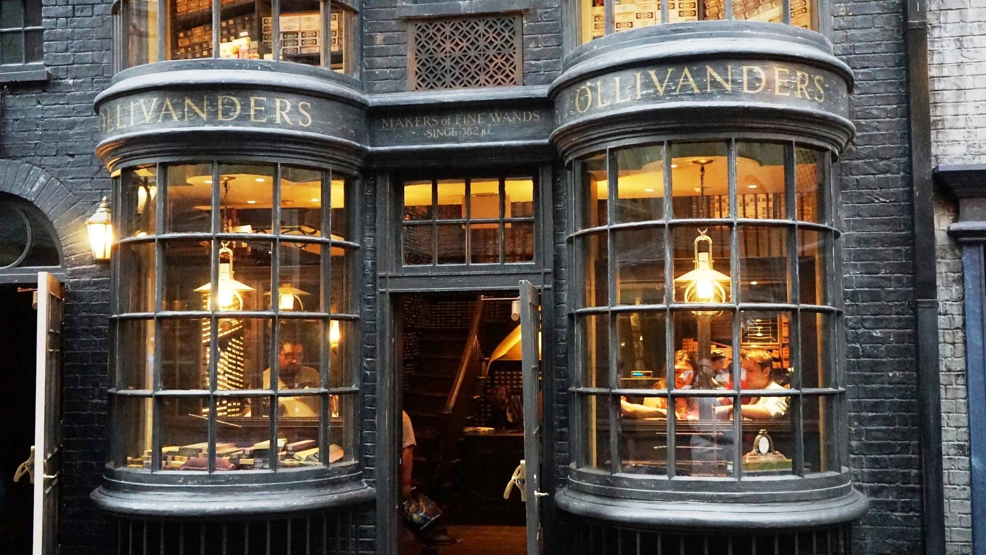 Ollivander's in Diagon Alley