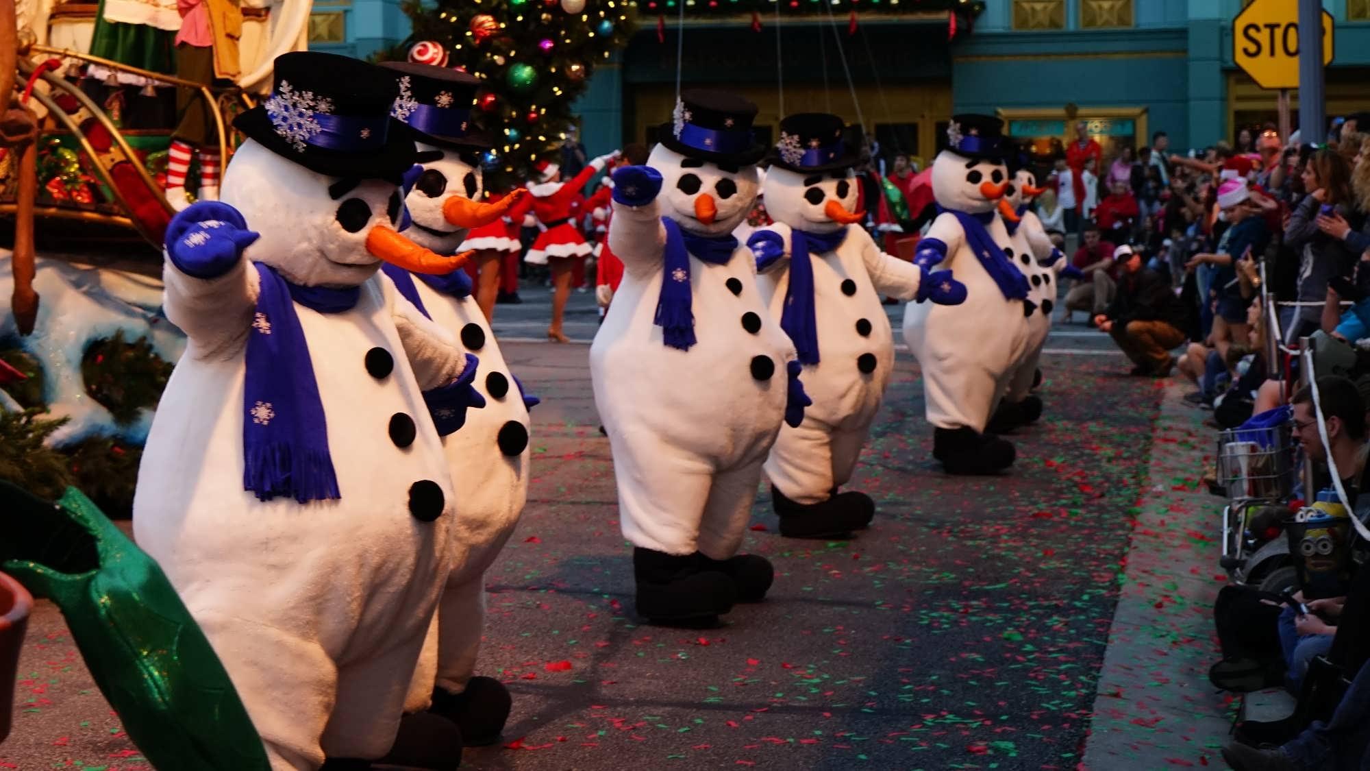 Macy's Holiday Parade at Universal Studios Florida.