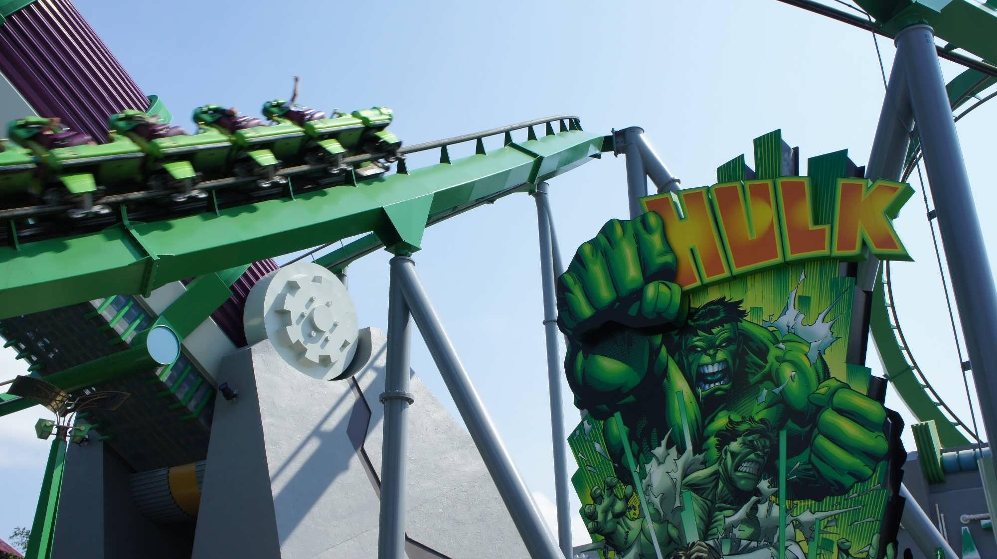Incredible Hulk Coaster overhaul confirmed
