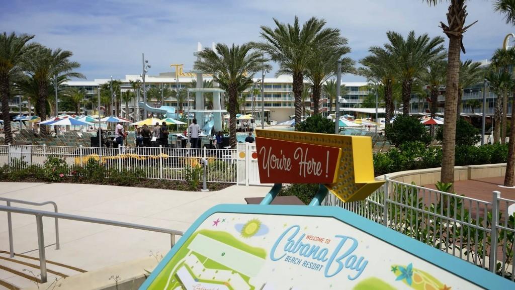 Cabana Bay Beach Resort.