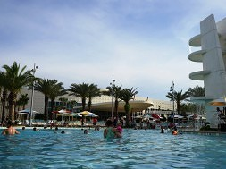 North Courtyard pool area – Cabana Bay Beach Resort.