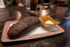 Chocolate Almond Bread at Toothsome Chocolate Emporium at Universal Orlando CityWalk
