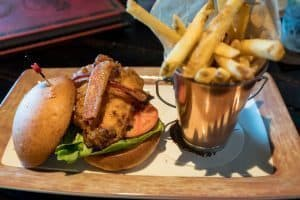 Southern Fried Chicken BLT at Toothsome Chocolate Emporium at Universal Orlando CityWalk