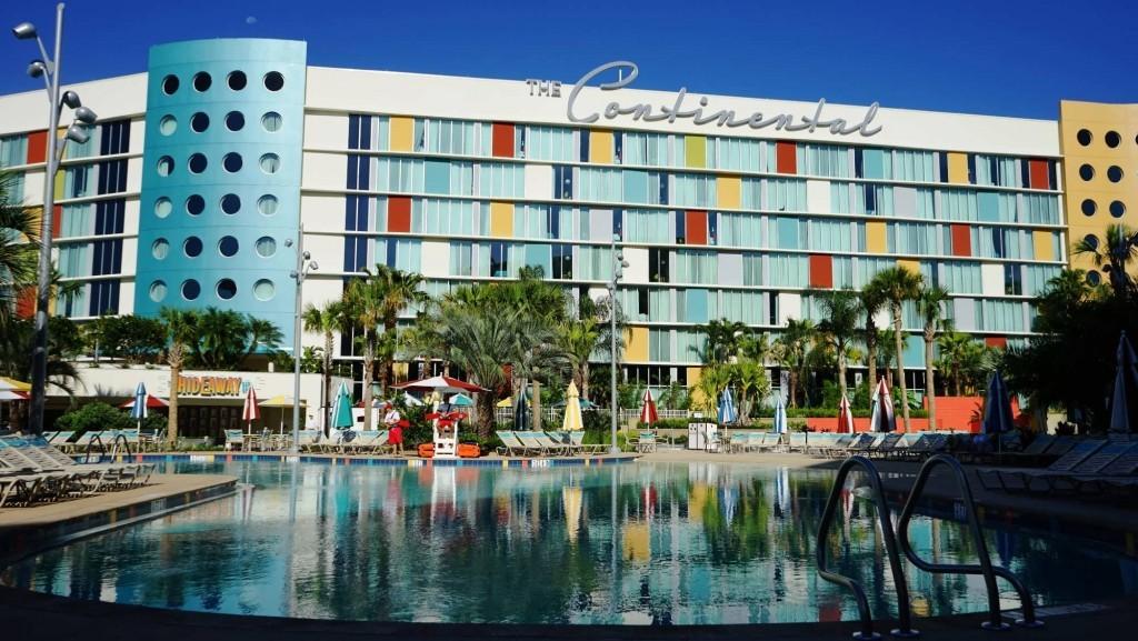 South Courtyard pool area – Cabana Bay Beach Resort.