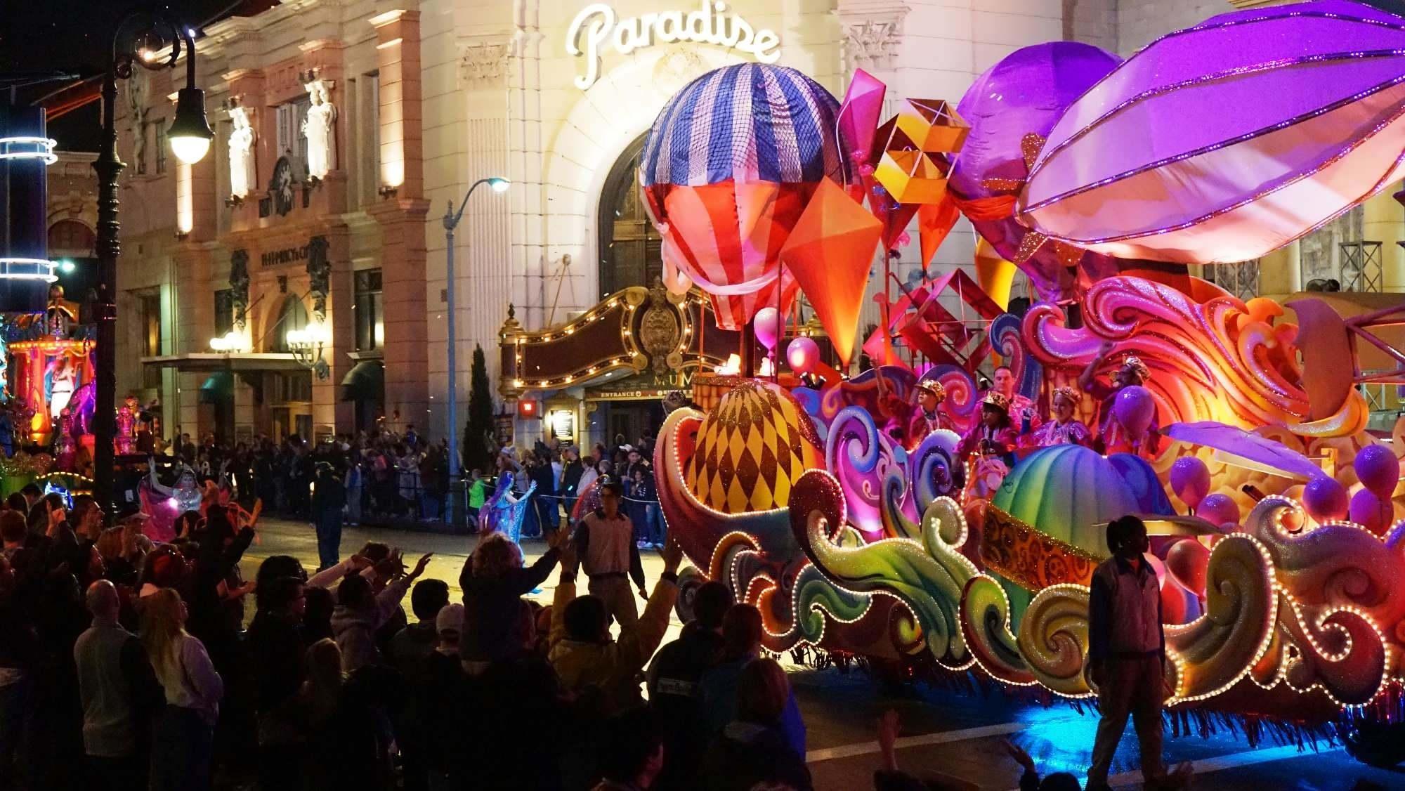 Riding a Mardi Gras float: Best rush outside of Bourbon Street