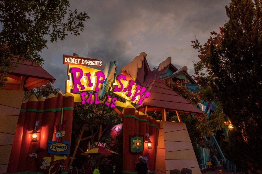 Dudley Do-Right's Ripsaw Falls at Islands of Adventure