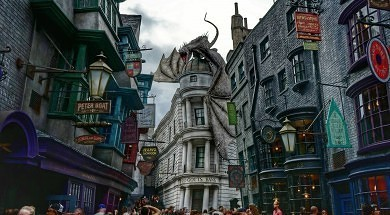 The Wizarding World of Harry Potter – Diagon Alley at Universal Studios Florida.