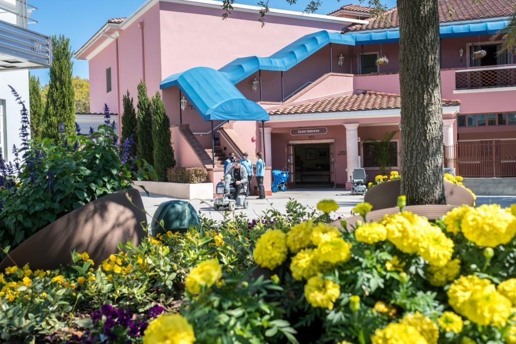 Guest Services inside Universal Studios Florida