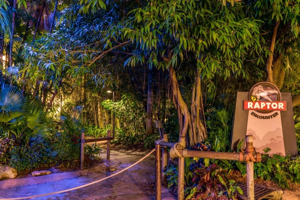 Entrance to the Raptor Encounter