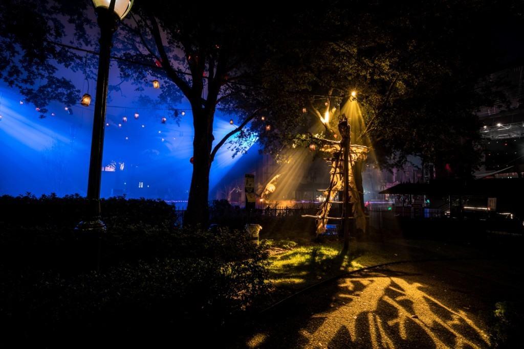 Atmosphere at Halloween Horror Nights 2015