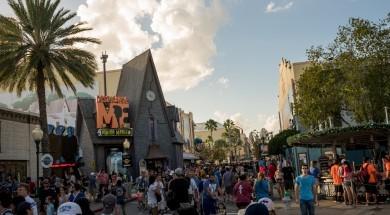 Crowds at Universal Orlando