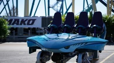 SeaWorld's Mako ride vehicle