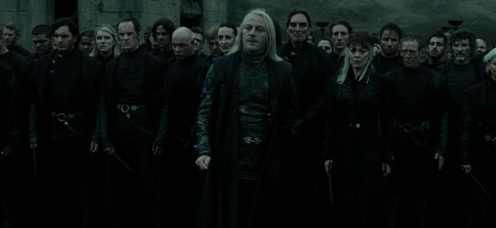 "Death Eaters from ""Harry Potter."""