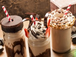 Toothsome Chocolate Factory's lineup of milkshakes