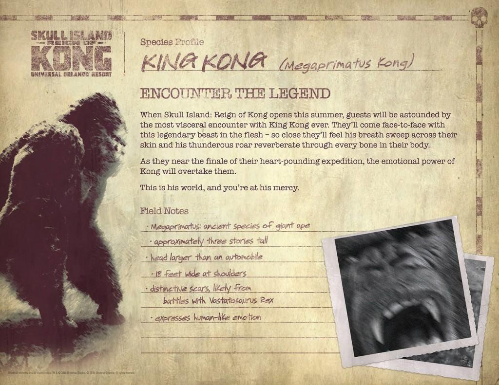 Skull Island: Reign of Kong details