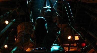 Revenge of the Mummy queue statue Universal Studios Florida