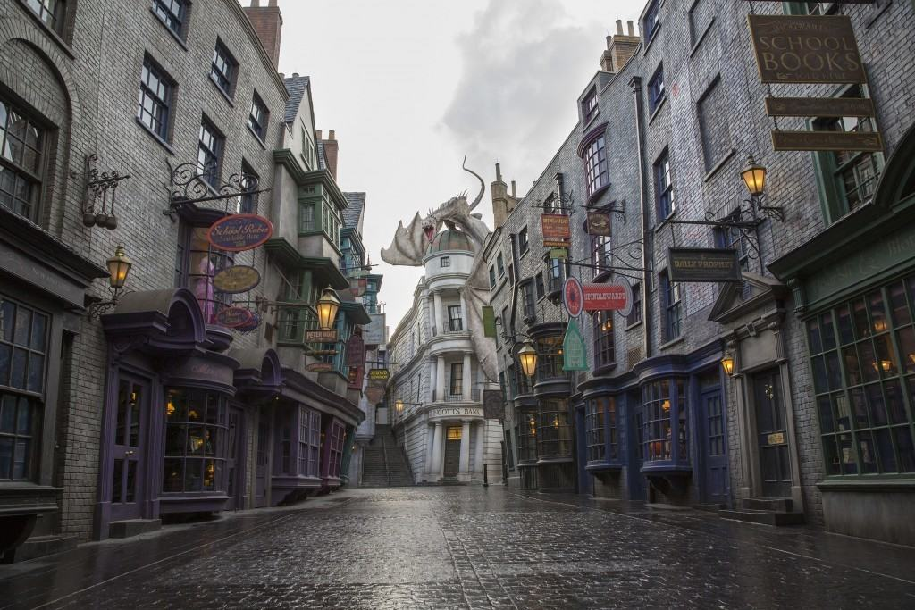 The boy who lived will live on in Diagon Alley at Universal Studios Florida
