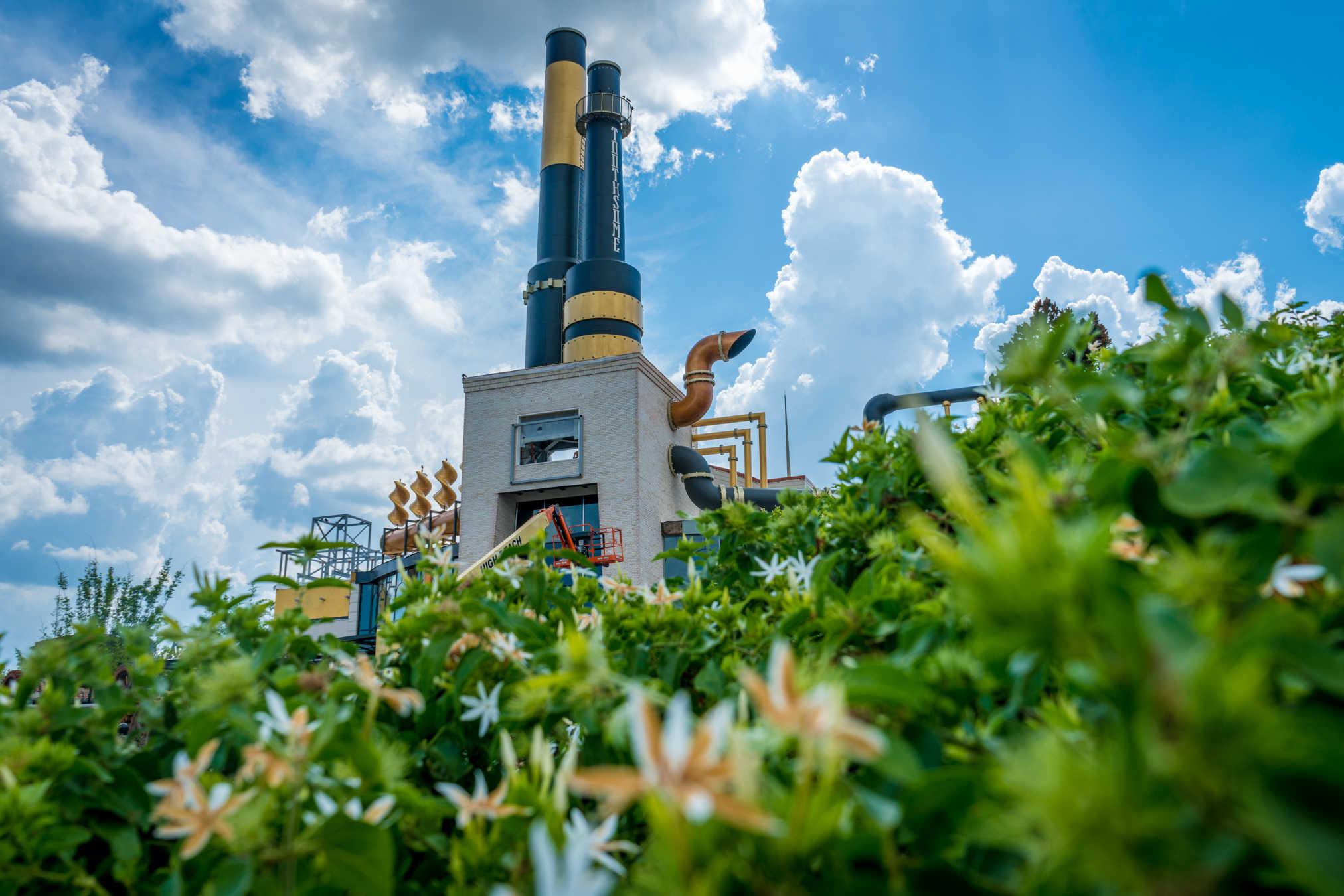Toothsome Chocolate Emporium begins to take shape at Universal Orlando