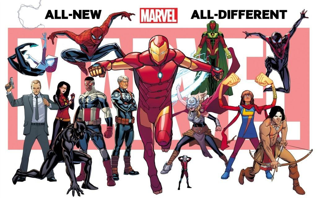 All-New, All-Different Marvel Comics lineup