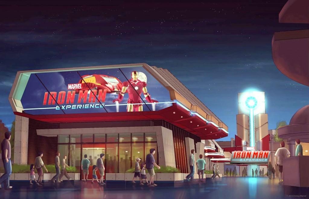 Iron Man Experience at Hong Kong Disneyland