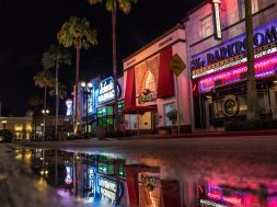 Hollywood area at Universal Studios Florida