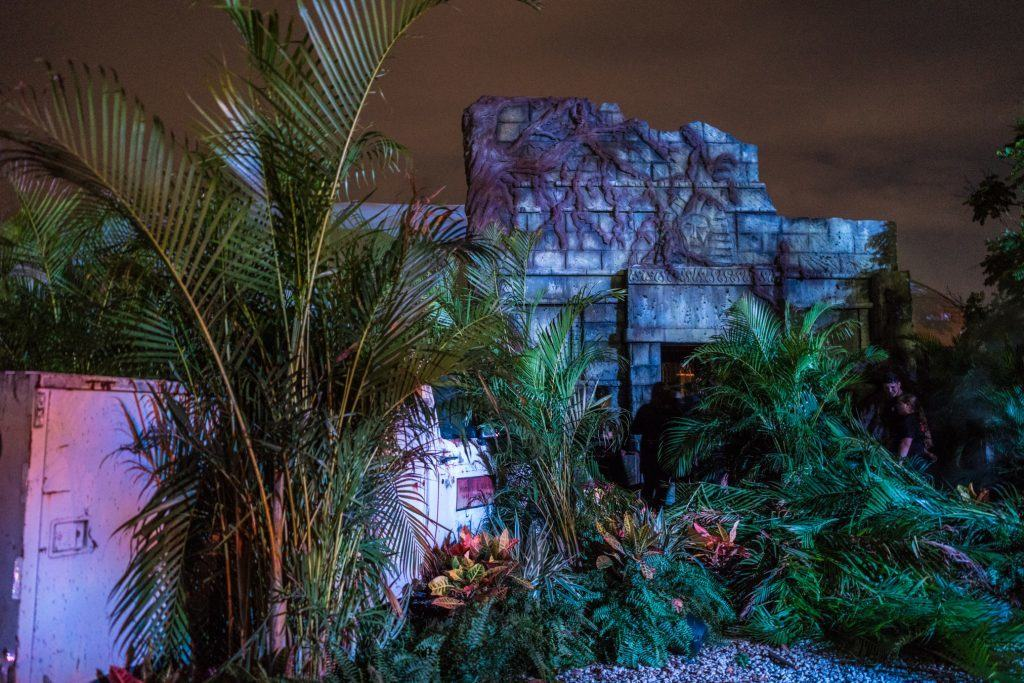 Tomb of the Ancients at Halloween Horror Nights 26.