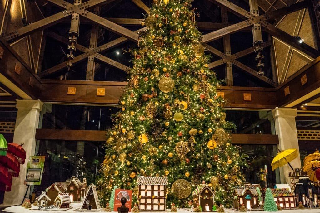 Christmas Tree at Loews Royal Pacific Resort