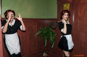 Moira O'Hara in American Horror Story at Universal Orlando's Halloween Horror Nights 2016