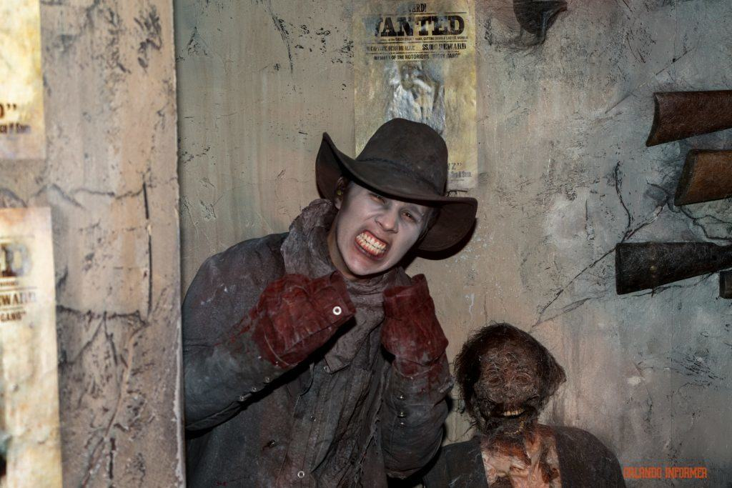 Ghost Town: The Curse of Lightning Gulch at Universal Orlando's Halloween Horror Nights 2016