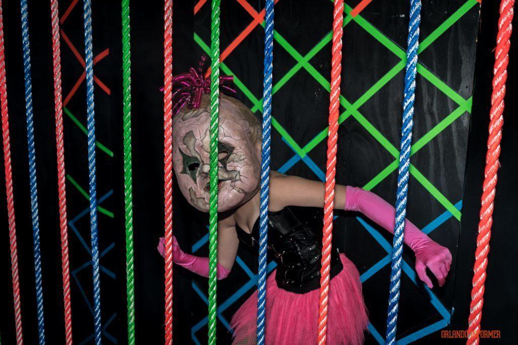 Lunatics Playground 3D at Universal Orlando's Halloween Horror Nights 2016