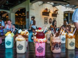 Toothsome Chocolate Emporium milkshakes