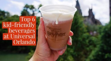 Top 6 kid-friendly beverages at Universal Orlando