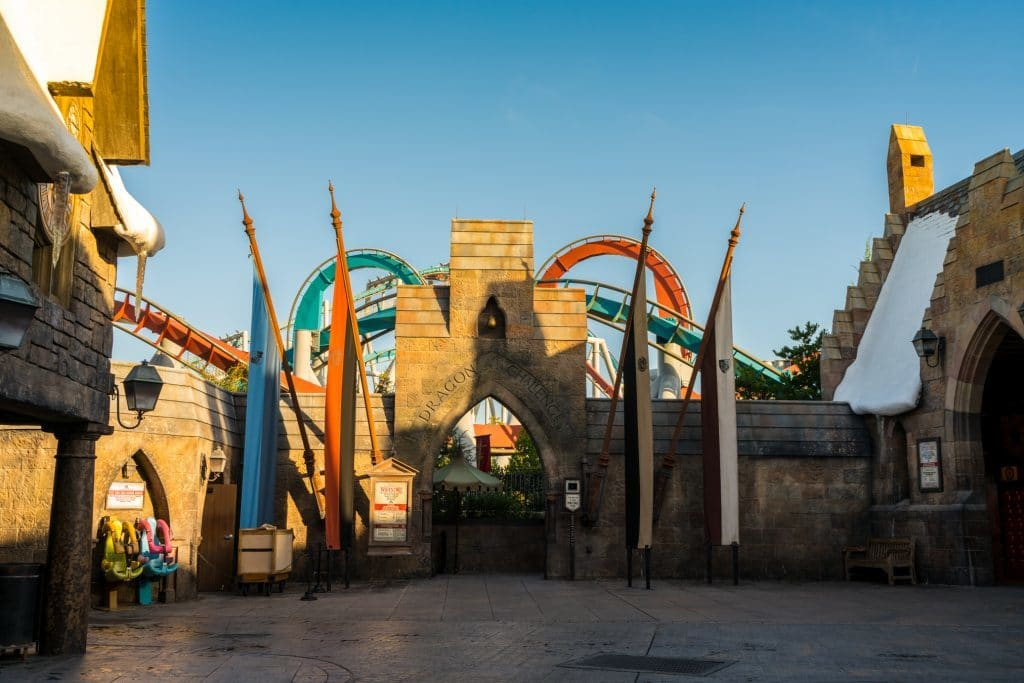 Dragon Challenge in The Wizarding World of Harry Potter - Hogsmeade at Universal's Islands of Adventure
