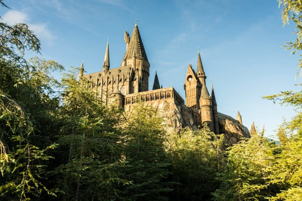 Harry Potter and the Forbidden Journey landscape in September 2016