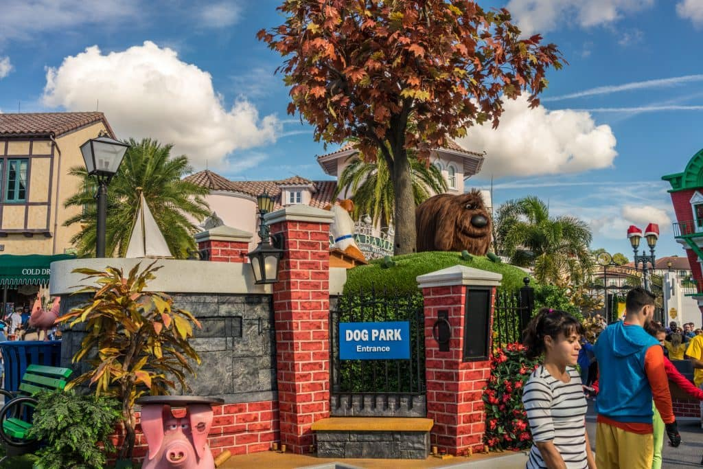 Secret Life of Pets in Universal's Superstar Parade