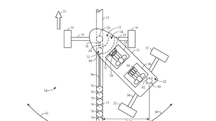 """Univeral's patent for """"drift racers"""""""