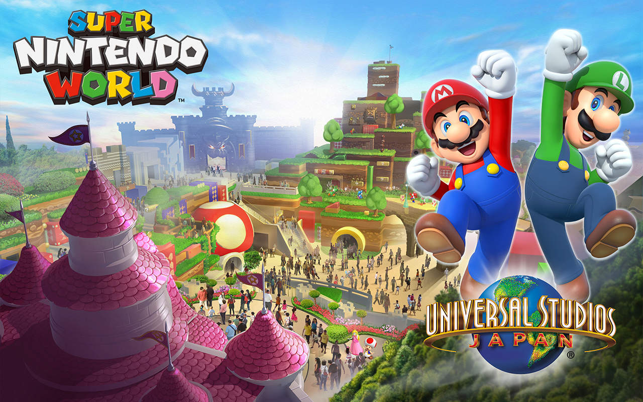Super Nintendo World revealed for Universal Studios Japan